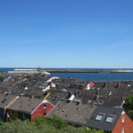 Helgoland lower village and Düne