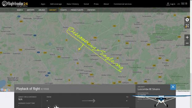 GPS-Skywriting