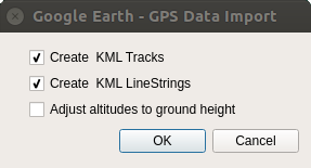 GPS Data Import
