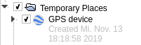 Imported GPS device